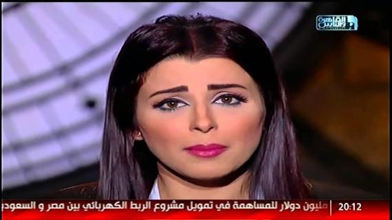 مذيعة القاهرة والناس تتعرض للتحرش فى الشارع