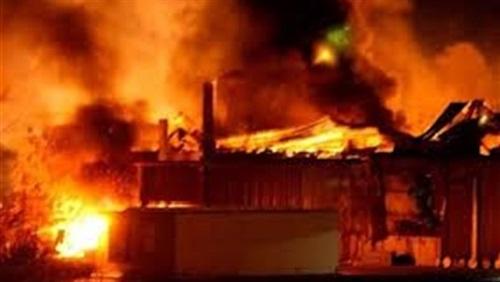 عاجل| حريق هائل في سوهاج