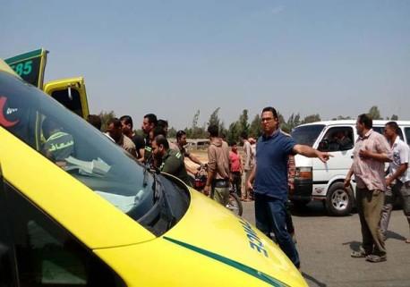 مصرع معلمين في حادث بأسيوط