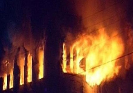 اشتعال النيران في منازل بالأقصر