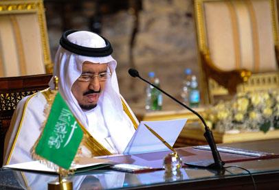العاهل السعودي يعيد هيكلة مجلس الوزراء