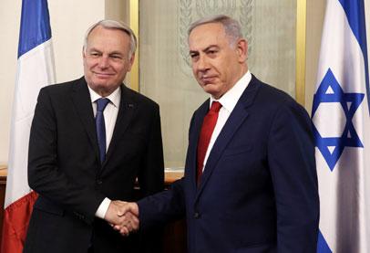 نتانياهو لم يعد يرى فرنسا دولة محايدة في القضية الفلسطينية